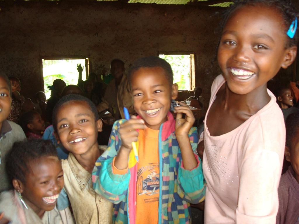 Escuela en Yirgacheffe, sur de Etiopia
